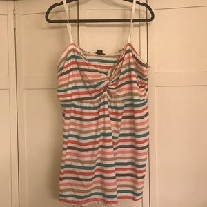Torrid multi color striped tank